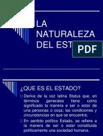TEMA 5 La Naturaleza Del Estado