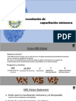 Presentation de Capacitacion Misionera en El Salvador