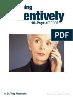 Listening Attentively - Dr. Tony Alessandra.pdf