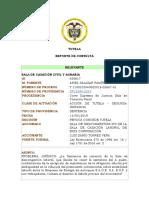 FICHA  JURISPRUDENCIAL SENTENCIA STC3095-2019