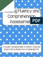 fluencyandcomprehensionassessmentforkindergarten