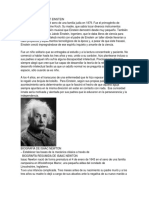 Biografía de Albert Einstein Retrankeros
