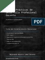Buenas Prácticas de Desarrollo Profesional Docente