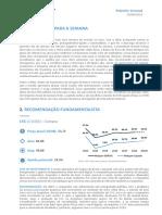 Relatório investimento irbr