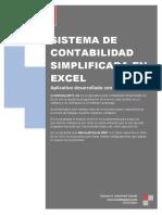 Manual Sistema de Contabilidad Simplificada en Excel