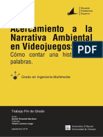 Acercamiento a La Narrativa Ambiental en Los Video FINESTRAT MARTINEZ DANIEL