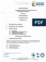 Acta No 02 de 07 de Marzo de 2017 SEPFSD