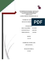 Termodinamica 2 1aa131 Informe 1