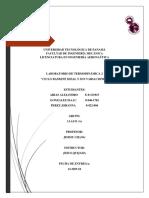 Termodinámica 2 1AA131 Informe 3