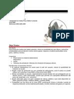 Respirador Media Cara Serie 6200