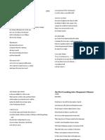 EXAMPLES OF Metonymy Poems