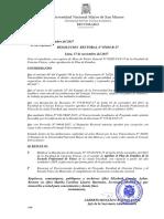 Plan De Estudios Generales UNMSM