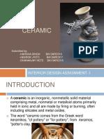 Chemistry ceramics intro