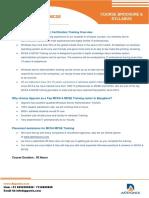 Windows Server MCSA MCSE Certification Training Course Content
