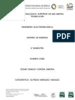 Examen ahorro de energia