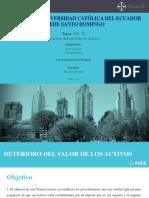 Briceño_Unda_NIC 36_Deterioro Del Valor de Los Activos
