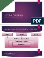 III Sistem Operasi (Lanjutan)
