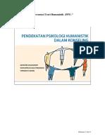 Konseling Lanjut - Presentasi Teori Humanistik