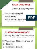 classromlanguage