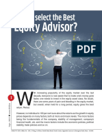 how to choose best equity advisor in india