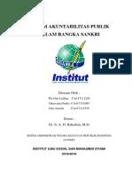 Sistem Akuntabilitas Publik Dalam Rangka Sankri