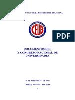 Congreso CEUB