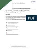 A Jun J. Nohara (2017) Sea power as a dominant paradigm the rise of China s new strategic identity.pdf