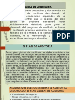 Af Plan Global de Auditoria- Examen Caja Bancos