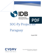 The SOC Project for Paraguay