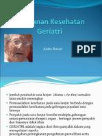 pelayanan kesehatan geriatri