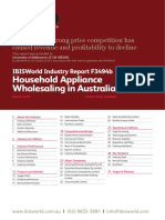 F3494B Household Appliance Wholesaling in Australia Industry Report 1