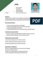 EHS CV of Reaz