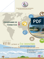 Catalogue de Formation CITET 2019