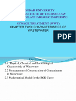 wastewater charactersitcs chapter 2