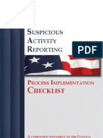 SAR Checklist