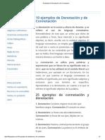 10 Ejemplos de Denotación y de Connotación