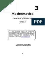 math lm 3