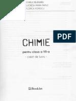 chimie caiet de lucru