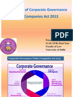 ppt on Corporate Governance Under Companies Act
