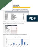 Solution-Marketing Analyst Test