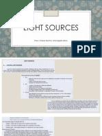 8 Light Sources