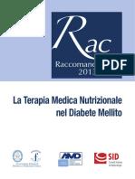 Raccomandazioni Nutrizione Nel Diabet Mellito