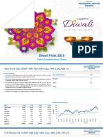 Edelweiss Professional Investor Research Diwali Picks 2019 Fundamental