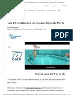 Jacques Genin, Cyril Lignac, Arnaud Lar___ Au Citron de Paris - L'Express Styles