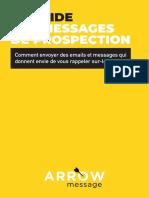 message de prospection