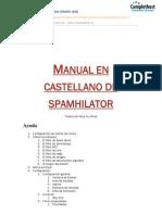 MANUAL EN CASTELLANO DE SPAMHILATOR
