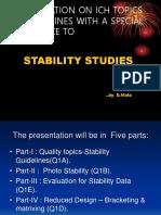 Stbility Presentation