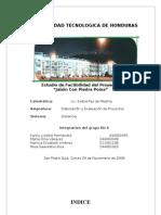 Proyecto Jabonera Del Valle