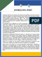 La Historia Del Peru