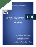 Cirurgia Radioguiada No CA de Mama (1)